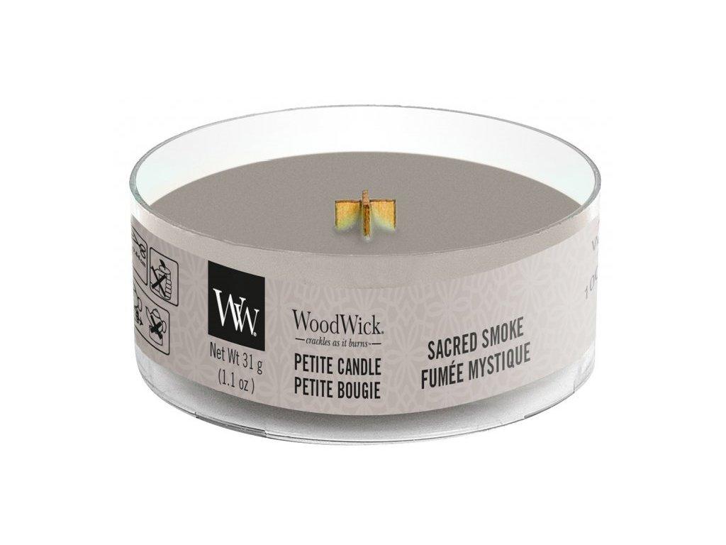 WoodWick - vonná svíčka SACRED SMOKE (Posvátný kouř) 31 g