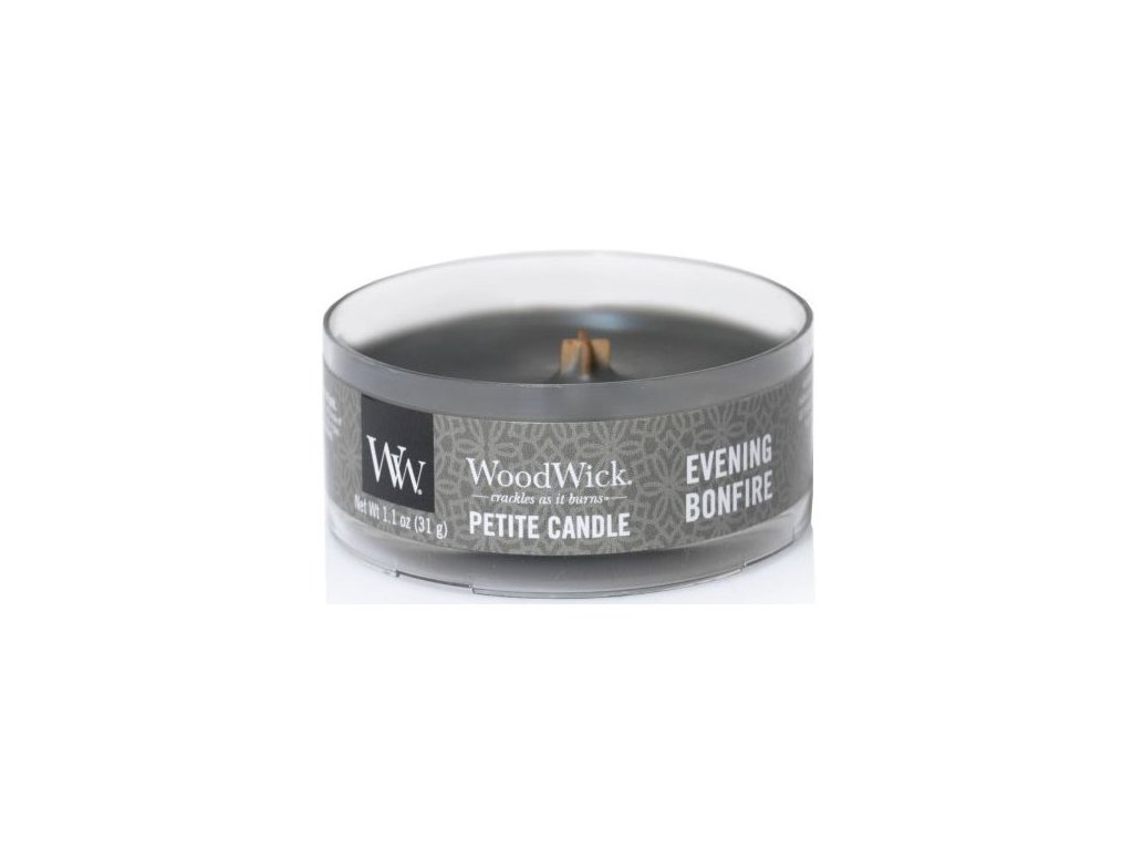 WoodWick - vonná svíčka EVENING BONFIRE (Večerní oheň) 31 g
