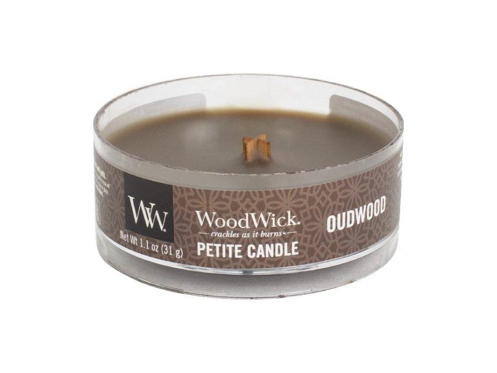 WoodWick - vonná svíčka OUDWOOD (Oudové dřevo) 31 g