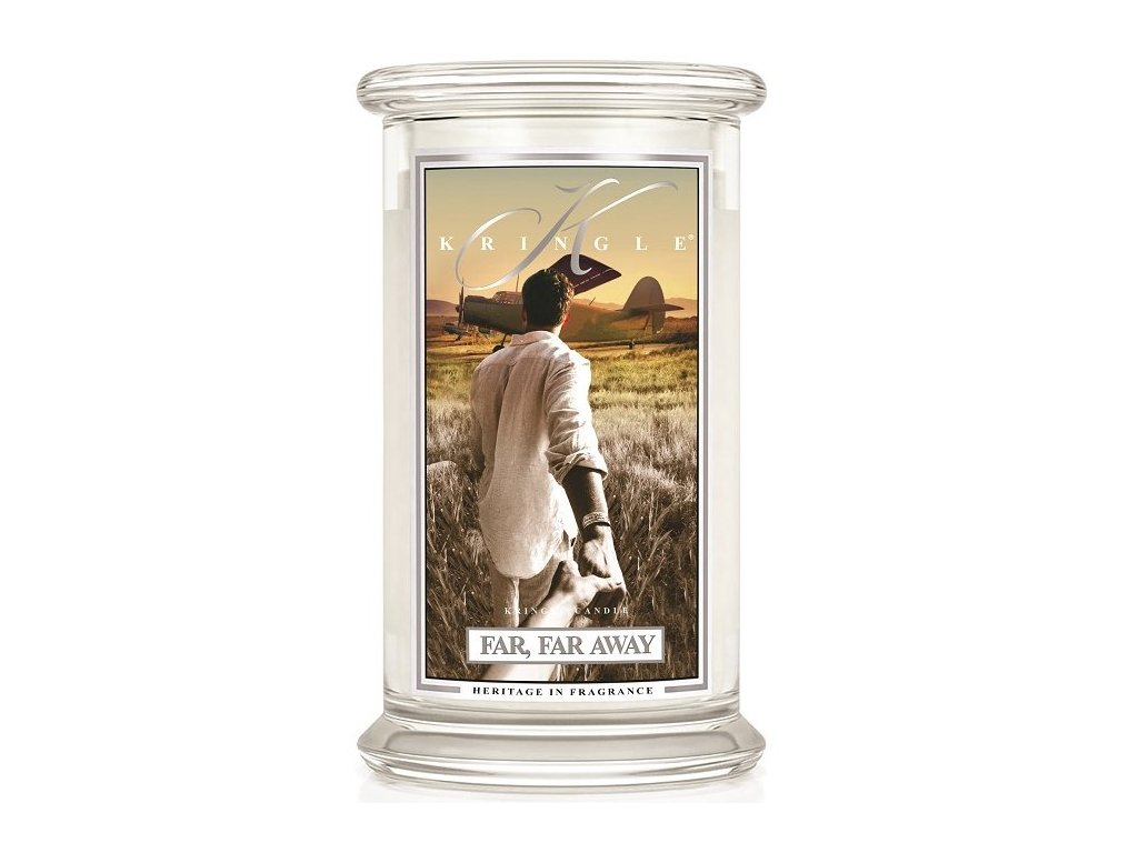 Kringle candle - vonná svíčka FAR, FAR AWAY (Převeliké dálky) 624 g