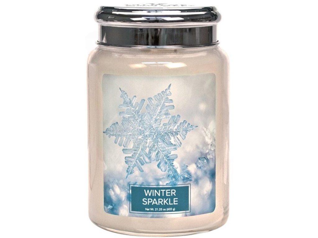 Village Candle - vonná svíčka Winter Sparkle (Zimní třpyt) 602g