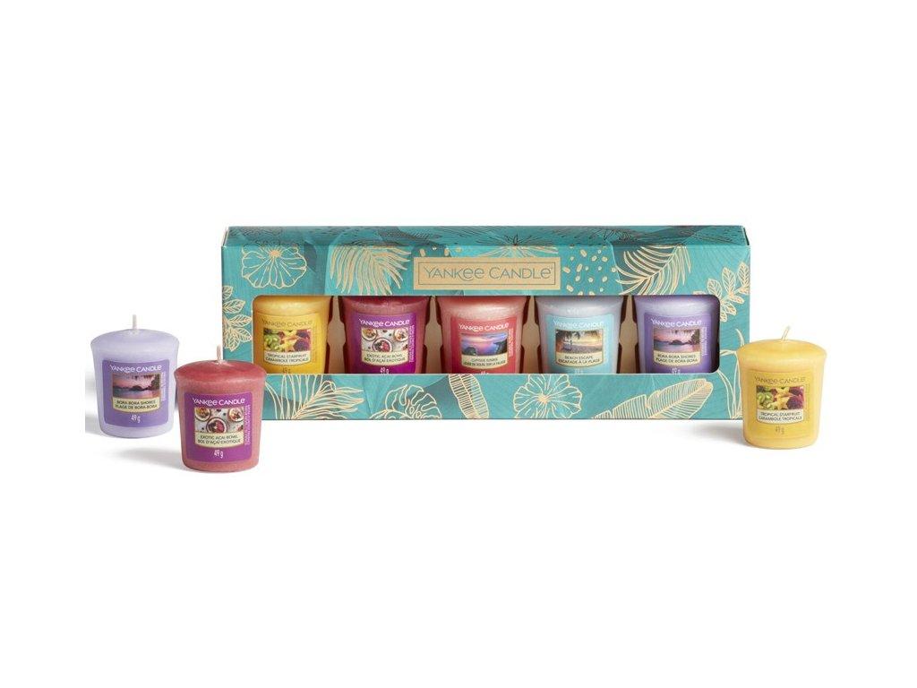 Yankee Candle - dárková sada 5 votivních svíček