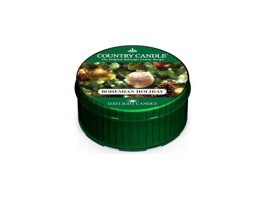 Country Candle - vonná svíčka BOHEMIAN HOLIDAY (Bohémské Vánoce) 42 g