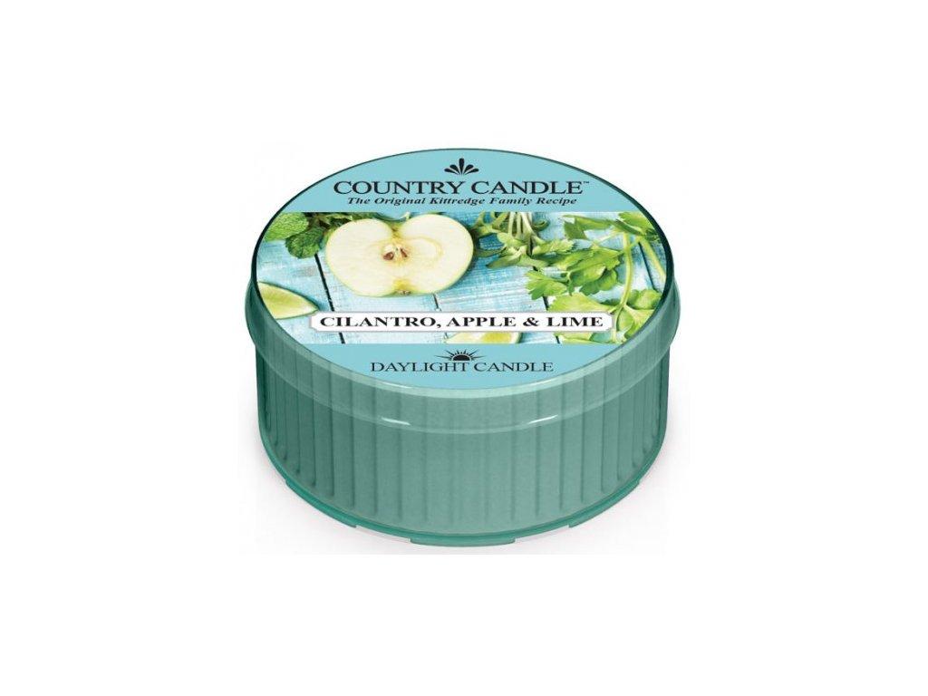 Country Candle - vonná svíčka CILANTRO, APPLE & LIME (Koriandr, jablko a limetka) 42 g