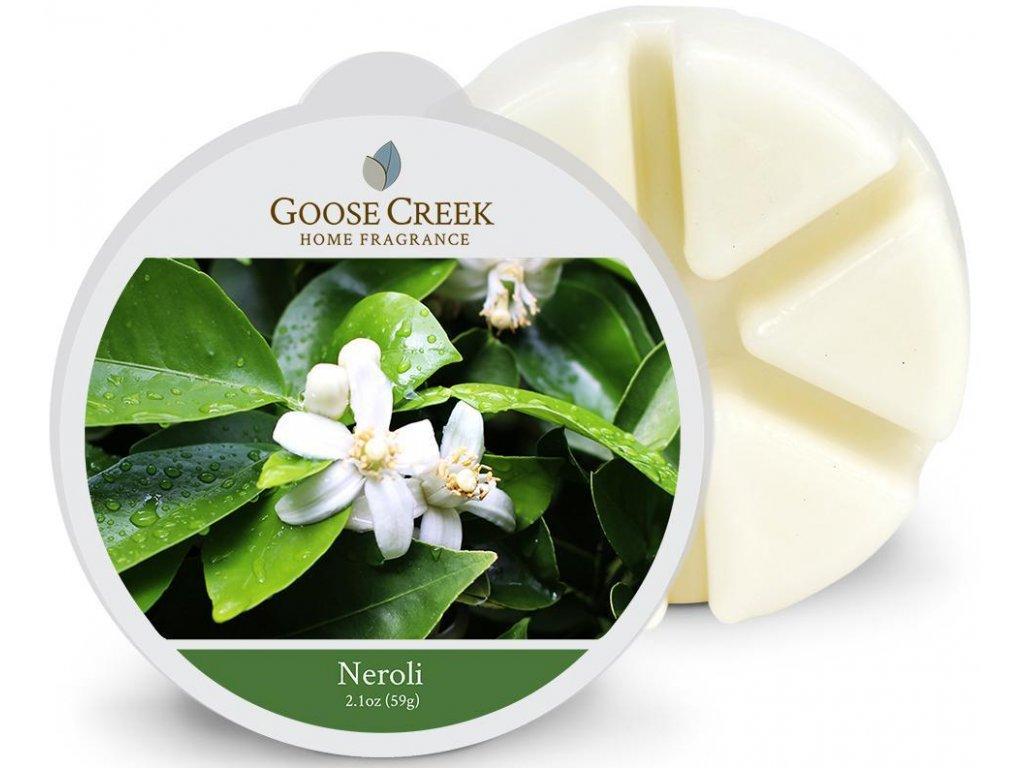 Goose Creek Candle - vonný vosk NEROLI (Pomerančový květ) 59g