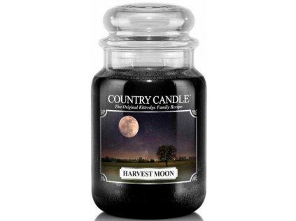 Country Candle - vonná svíčka HARVEST MOON (Měsíc v úplňku) 652 g