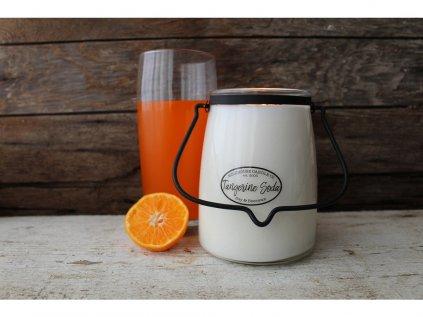V tangerine soda