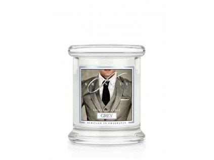 Kringle Candle - vonná svíčka GREY (Pan Grey) 127 g