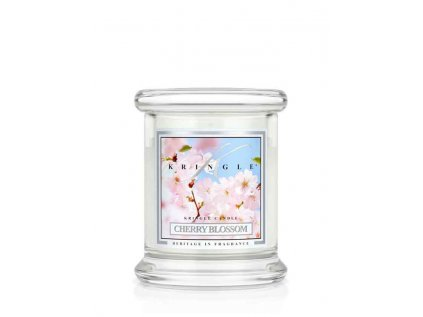 Kringle Candle - vonná svíčka CHERRY BLOSSOM (Rozkvetlá třešeň) 127g