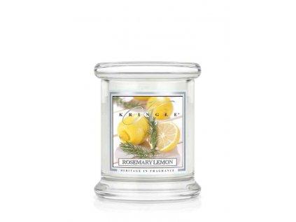 Kringle Candle - vonná svíčka ROSEMARY LEMON (Rozmarýn a citron) 127 g