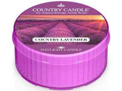 Country Candle - votivní svíčka COUNTRY LAVENDER (Země levandule) 42 g