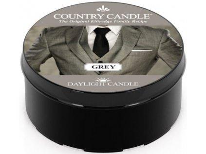 Country Candle - votivní svíčka GREY (Pan Grey) 42 g