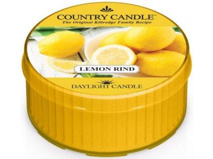 Country Candle - votivní svíčka LEMON RIND (Citrónová kúra) 42 g