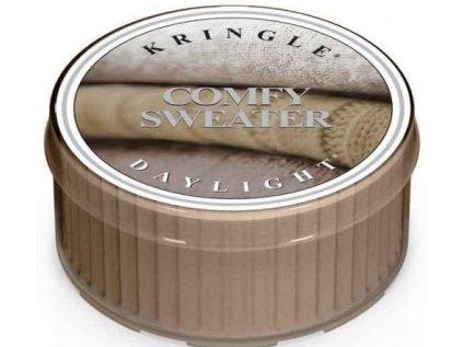 Kringle Candle - votivní svíčka COMFY SWEATER (Pohodlný svetr) 42 g