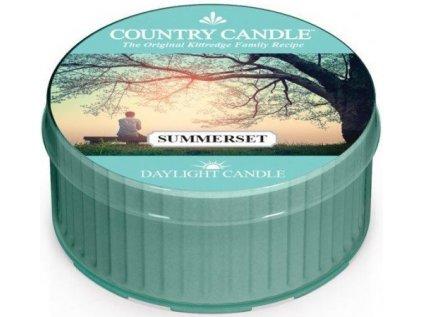 Country Candle - votivní svíčka SUMMERSET (Letní západ slunce) 42 g