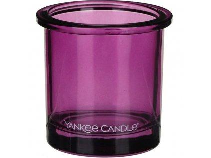 yankee candle pop tea light votive holder violet p15847 29178 image