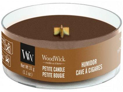 WoodWick - vonná svíčka HUMIDOR (Pouzdro na doutníky) 31 g