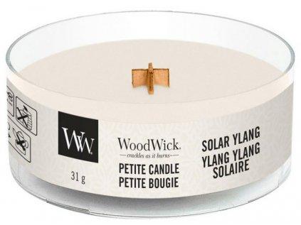 WoodWick - vonná svíčka SOLAR YLANG (Sluneční ylang) 31 g