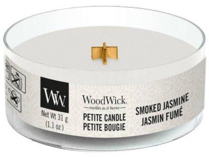 WoodWick - vonná svíčka SMOKED JASMINE (Kouřový jasmín) 31 g