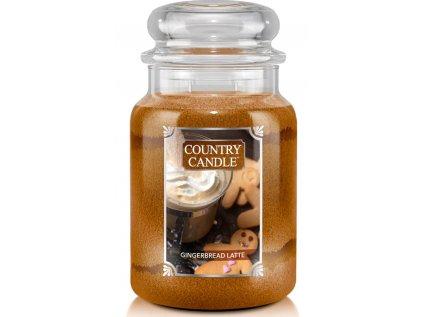 Country Candle - vonná svíčka GINGERBREAD (Perník) 652 g