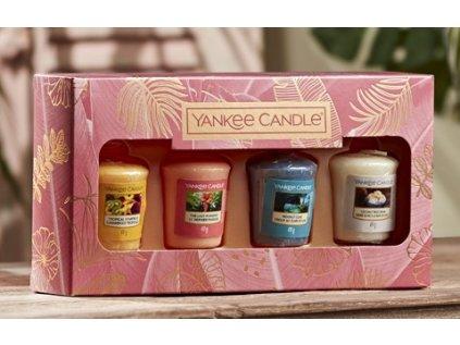 Yankee Candle - dárková sada 4 votivních svíček
