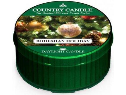 Country Candle - vonná svíčka BOHEMIAN HOLIDAY (Bohémský svátek) 42 g
