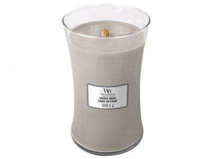 WoodWick - vonná svíčka SACRED SMOKE (Posvátný kouř) 609 g