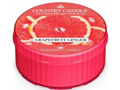 Country Candle - vonná svíčka GRAPEFRUIT GINGER (Grapefruit a zázvor) 42 g