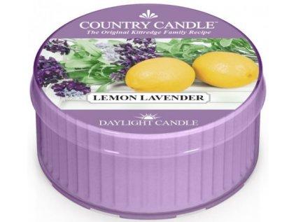 Country Candle - vonná svíčka LEMON LAVENDER (Citronová levandule) 42 g