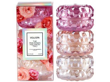 Dárkový set 3 Roses Macaron