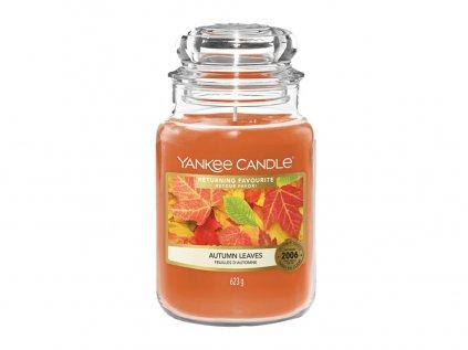 Yankee Candle - vonná svíčka AUTUMN LEAVES (Podzimní listí) 623 g