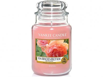 10103 7 yankee candle sun drenched apricot rose velka