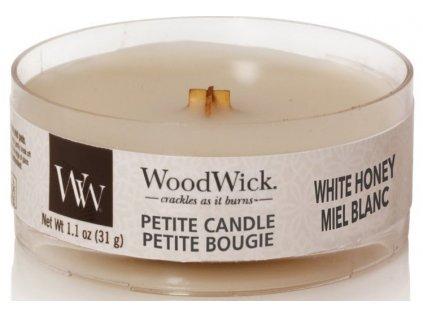 WoodWick - vonná svíčka WHITE HONEY (Bílý med) 31 g