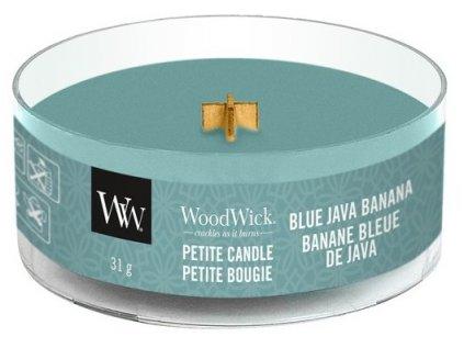 WoodWick - vonná svíčka BLUE JAVA BANANA (Modrý Jávský banán) 31 g