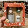 Yankee Candle - vánoční dárková sada 3 votivních svíček + svícnu Countdown to Christmas