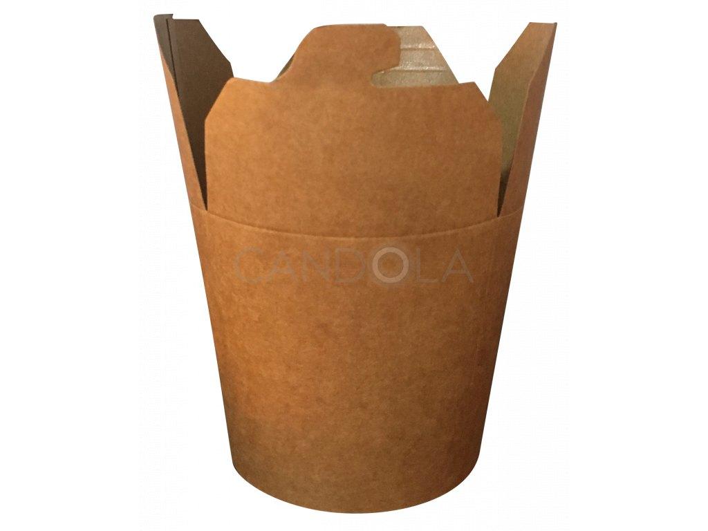 H0710 Leone street food paper box fast food papirova krabicka