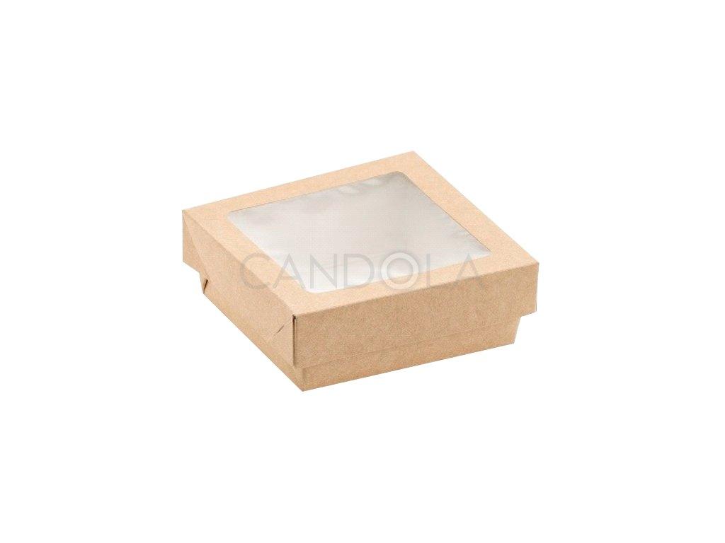 H0715 H0716 H0717 H0718 Leone street food paper window box papirova krabicka pruhledne okenko