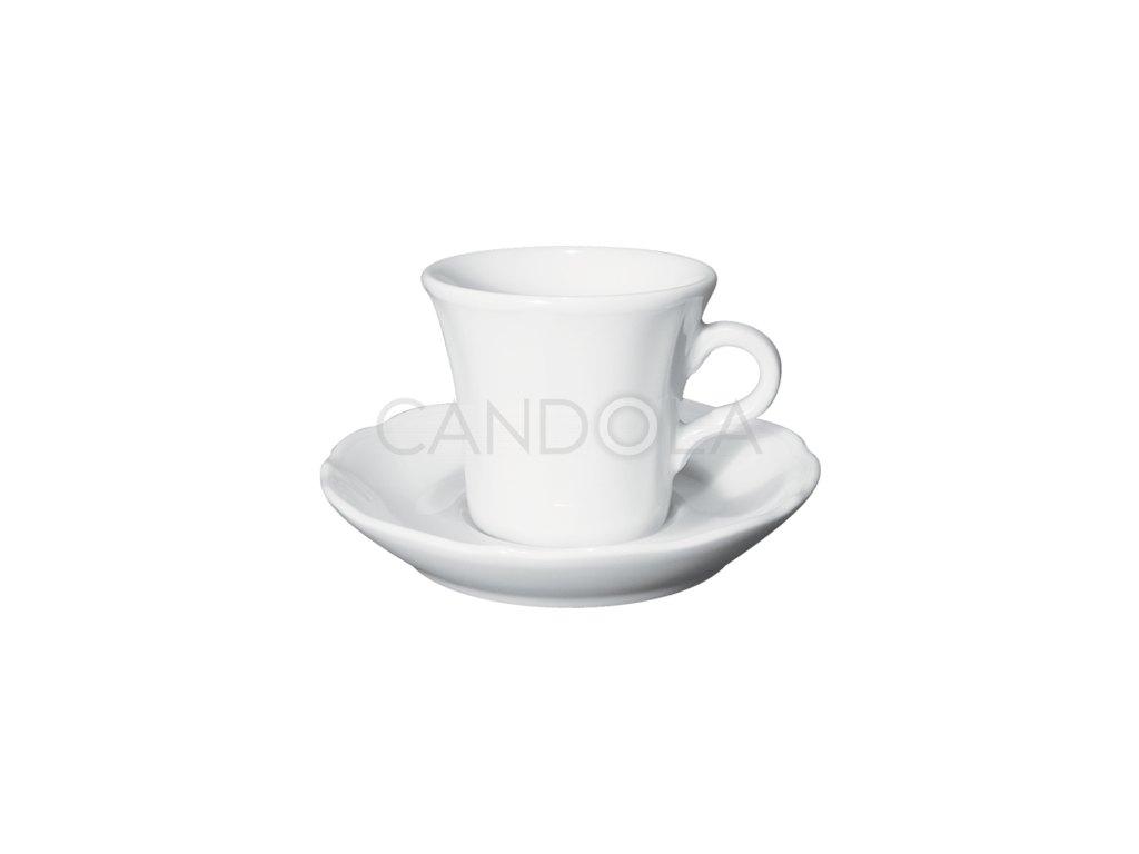 Claudia šálek nacappuccino ačaj spodšálkem Claudia 150 ml