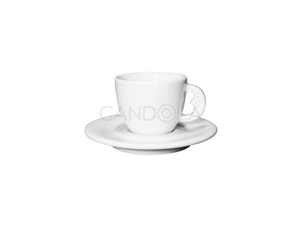 AlìBabà šálek naespresso spodšálkem Edex 70ml