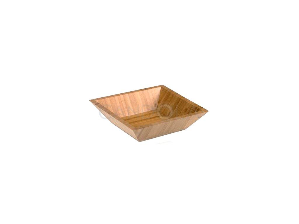 S0067 S0068 Leone square bamboo bowl ctvercova bambusova misa 1