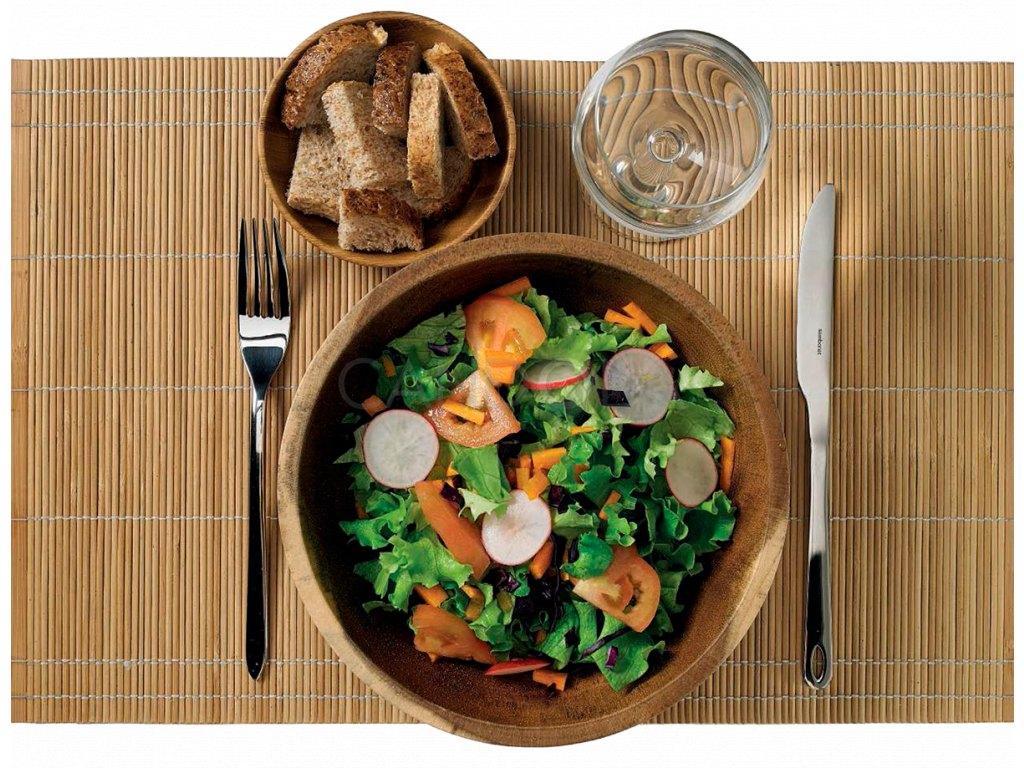 S0071 Leone wooden sushi table cloth bambusove prostirani 1