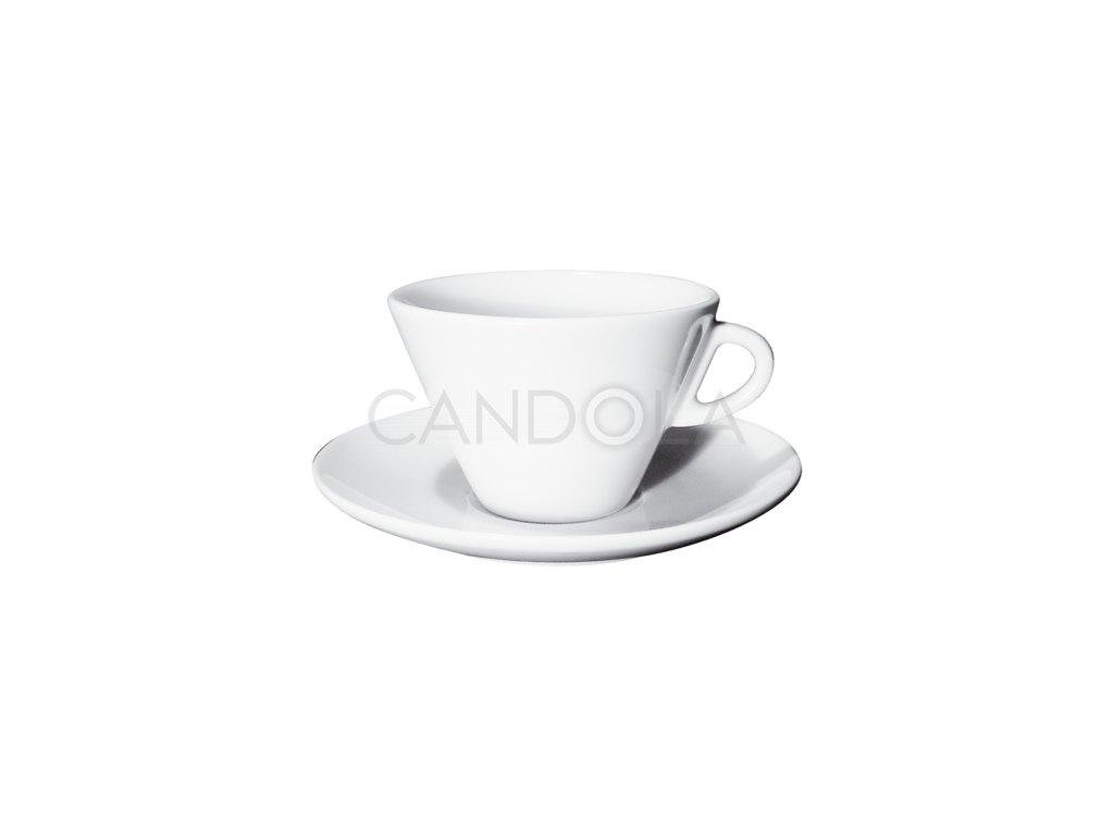 Degustazione Special šálek nacaffè latte ačokoládu spodšálkem Torino, Verona 270ml