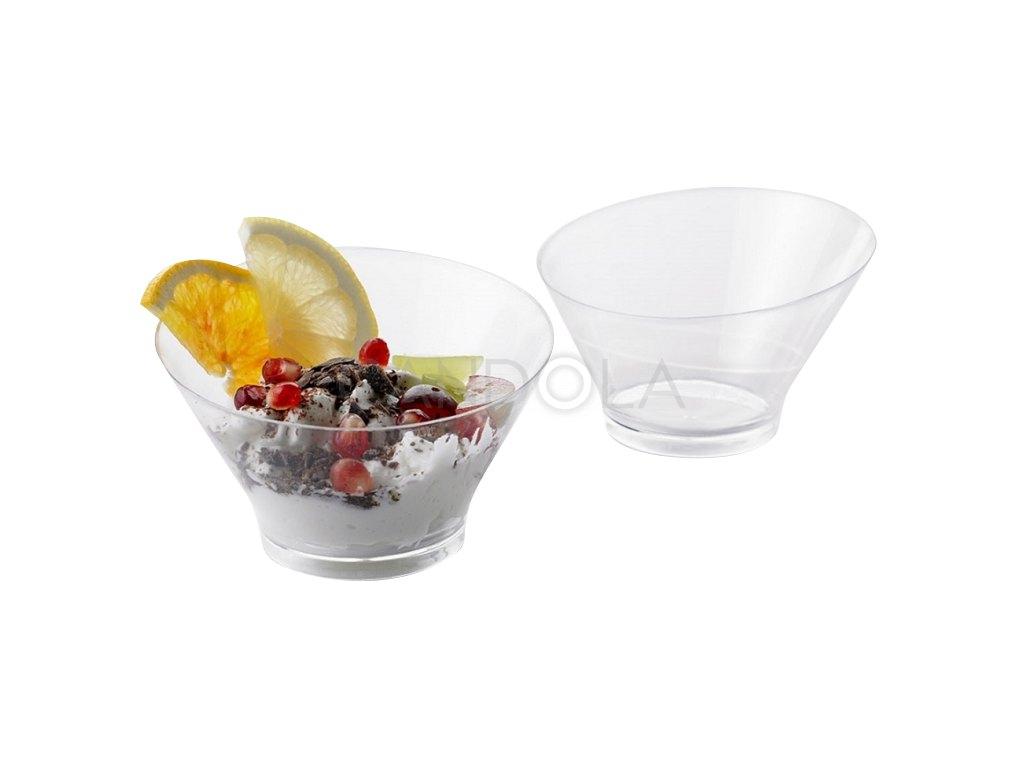 F0009 Leone finger food bowl plastova miska na dezert