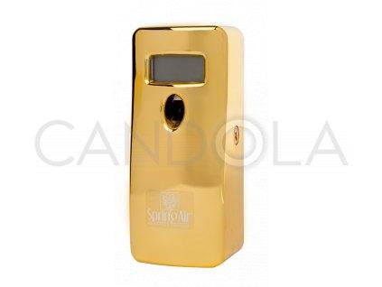 Spring Air digitální rozprašovač zlatý