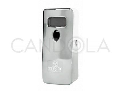 Spring Air digitální rozprašovač stříbrný
