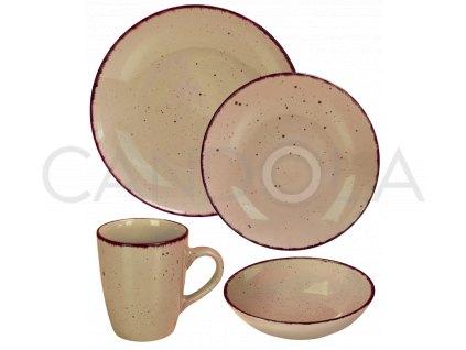 2571 jidelni souprava 16 dilu pottery stone