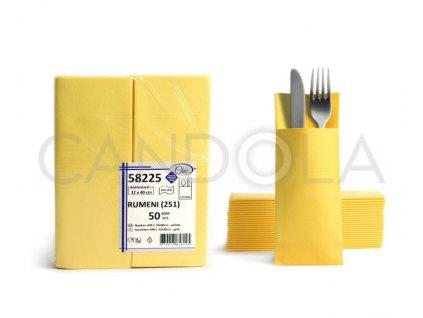 chic-airlaid-ubrousky-32-x-40-cm-yellow-50-ks-58225-251