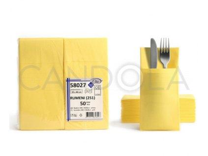 chic-airlaid-ubrousky-39-x-40-cm-yellow-50-ks-58027-251