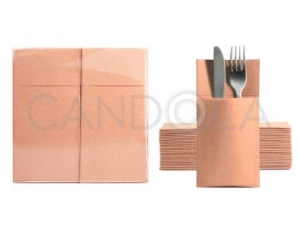 chic-soft-point-ubrousky-39-x-38-cm-peach-50-ks-50724-102