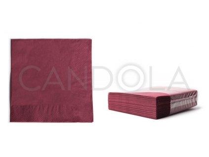 chic-tissue-ubrousky-2-vrstve-38-x-38-cm--burgundy-50-ks-52711-309